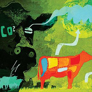Carbon War Meat consumption CO2 emission