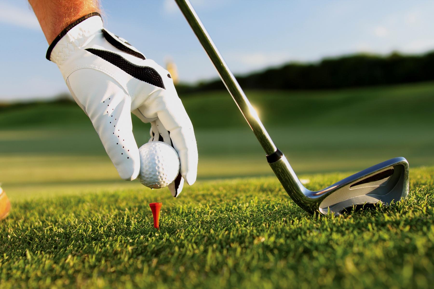 Golf competitie