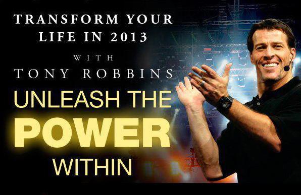 Anthony Robbins London UPW event 2013