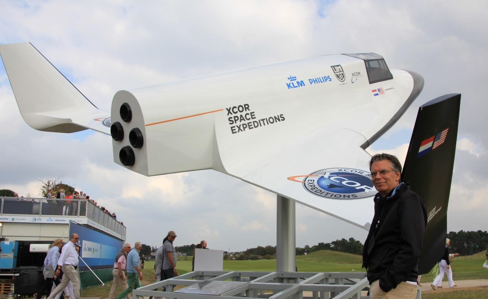 Allan Vafi space KLM Open II