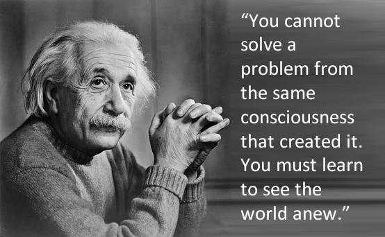 quote Einstein solve-problem