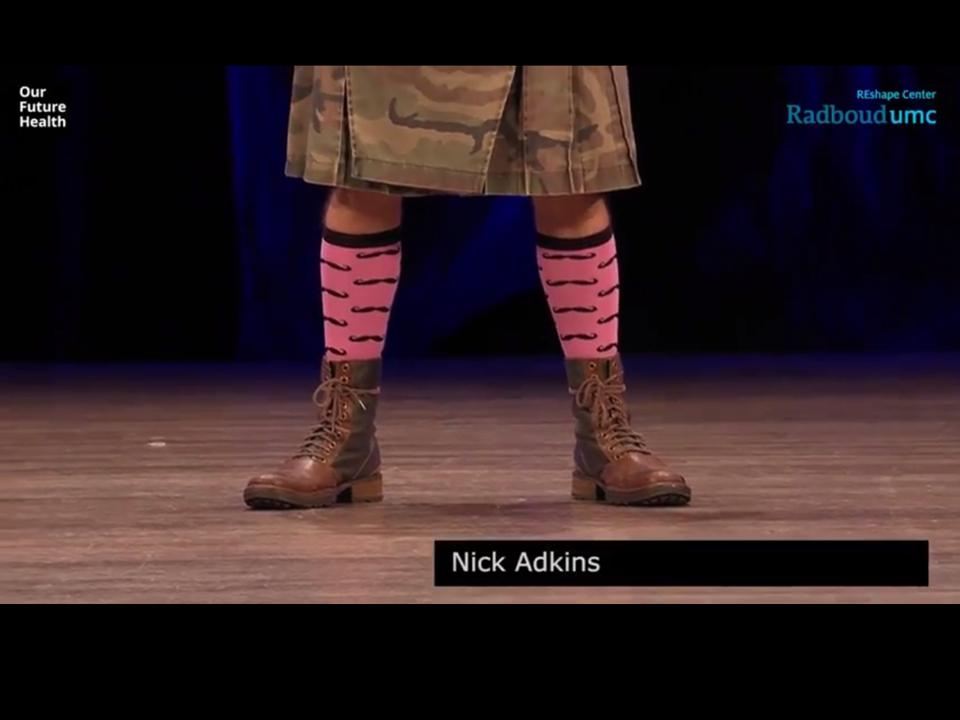 Nick Adkins Our Future Health 2016